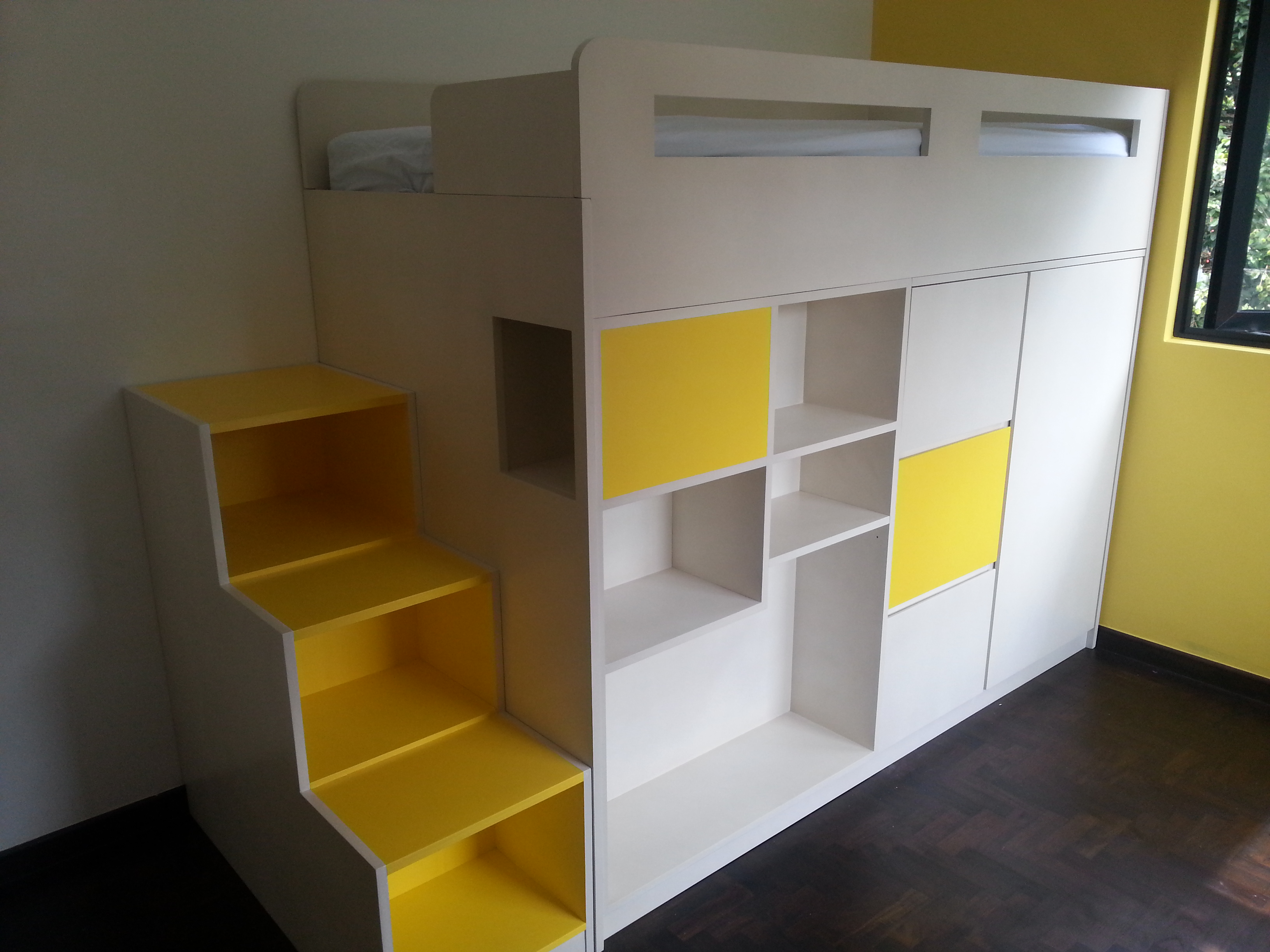 Bunk Bed In Singapore ~ inspiring children\'s room and study table